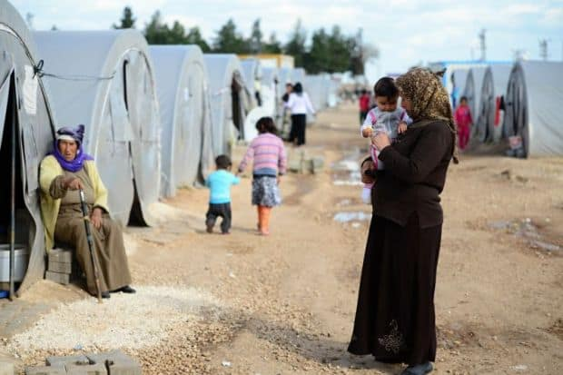 Azraq refugees prepare for pandemic